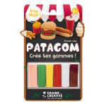 Gomme à modeler Patagom Kit Junk Food 6 x 25 g