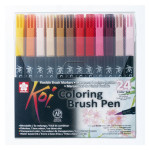 Feutre pinceau Koi Set 24 couleurs