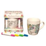 Coffret Art-Thérapie mug licorne à colorier