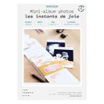 Kit papier Mini-albums les instants de joie
