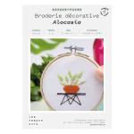 Kit savoir-faire Broderie décorative alocasia