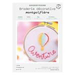 Kit savoir-faire Broderie décorative montgolfière