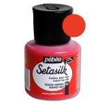 Peinture pour soie Setasilk 45 ml - 06 - Rouge hermès