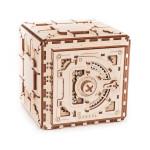 Puzzle mécanique en bois Coffre-fort