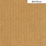 Carton ondulé mini - Kraft - 50 x 70 cm