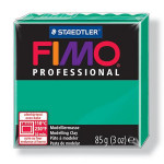 Pâte polymère Fimo Pro 85 g - 500 - Vert foncé