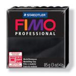 Pâte polymère Fimo Pro 85 g - 9 - Noir