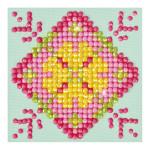 Broderie Diamant kit débutant Mandala Patchwork 1