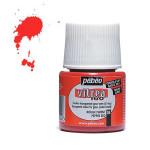 Peinture pour verre Vitrea 160 45 ml - 04 - Rouge piment