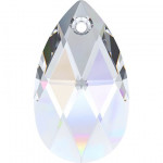 Pendentif poire 6106 - 28 mm - Crystal Aurore Boreale