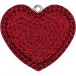 Pendentif pavé cœur 67412 - 14 mm - Siam