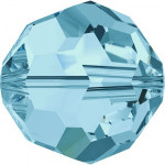 Perle ronde 5000 - 4 mm - Aquamarine