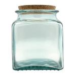 Pot en verre Carré 14 cm