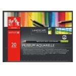 Crayon de couleur Museum Aquarelle - boite de 24 couleurs