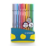 Feutre Pen 68 Boite Colorparade de 20 dont 10 pastels