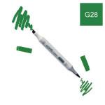 Marqueur à alcool double-pointe Ciao - G28 Vert océan