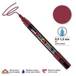 Marqueur PC-3M pointe conique fine - Lie de vin