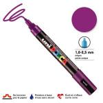 Marqueur PC-5M pointe conique moyenne - Violet