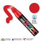 Marqueur PC-17K pointe extra-large - Rouge