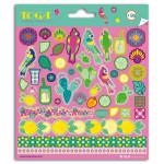 Stickers fantaisie Hacienda - 2 planches