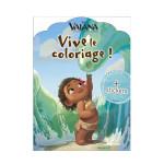 Livre de coloriage Disney - Vaiana Vive le coloriage !