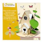 Coffret créatif Maison des fées à construire