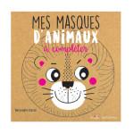 Livre Mes Masques d'animaux à compléter