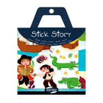 Stickers repositionnables Stick Story thème pirates