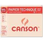 Papier Lavis technique 200g 24 x 32cm pochette de 12 feuilles
