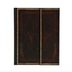 Carnet Marocain noir 18 x 23 cm 120 g/m² 144 p