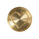 Sceau gravé symbole Cœur