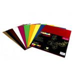 Carton ondulé 22 x 32 cm 10 couleurs assorties