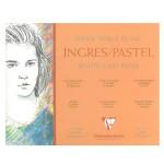Bloc de papier Ingres 130 g/m² - 24 x 30 cm