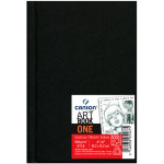Livre de dessin Art Book One - 10,2 x 15,2 cm