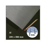 Plaque de métal déployé motif 3 mm