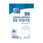 Enveloppe gommée 90 x 140 mm Carte de visite 50 pcs