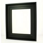 Caisse américaine noire format figure - 10F - 55 x 46 cm