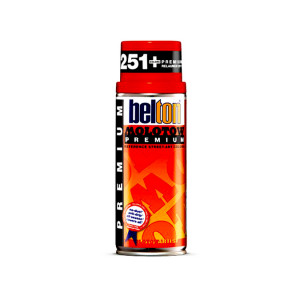 Bombe de peinture acrylique Belton Premium 400 ml - 235 - Fluo bleu
