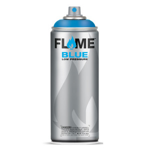 Bombe de peinture acrylique Flame Blue 400 ml - 410 - Violet Blackberry