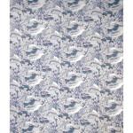 Papier Japonais 52 x 65,5 cm 100 g/m² Plantes et Fleurs sur fond bleu