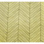 Papier Lokta 50 x 70 cm 150 g/m² Rayures contemporaines Noires sur Blanc