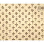 Papier Italien 50 x 70 cm 85 g/m² Lys Marrons Dorés
