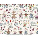 Papier Italien 50 x 70 cm 85 g/m² Ronde d'enfants