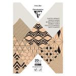 Bloc de papier imprimé Krafty A5 20 feuilles