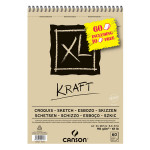 Bloc de papier XL Kraft 90 g/m² - 29,7 x 42 cm (A3)