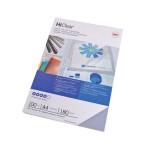 Plat de couverture HiClear A4 200 microns Transparent 100 pcs
