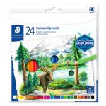 Crayon de couleur Design Journey étui de 24 pcs