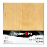Placage bois naturel Hêtre blanc ep. 0,6 mm 30 x 30 cm