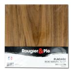 Placage bois naturel Noyer ep. 0,6 mm 30 x 30 cm
