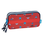 Trousse 3 compartiments Shark Attack 22 x 11 x 6,5 cm